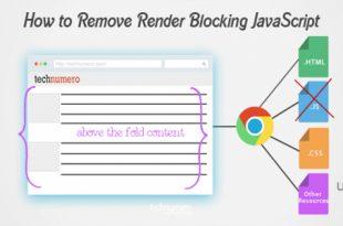 تصویر چگونه اخطار Remove Render-Blocking JavaScript را رفع کنیم؟