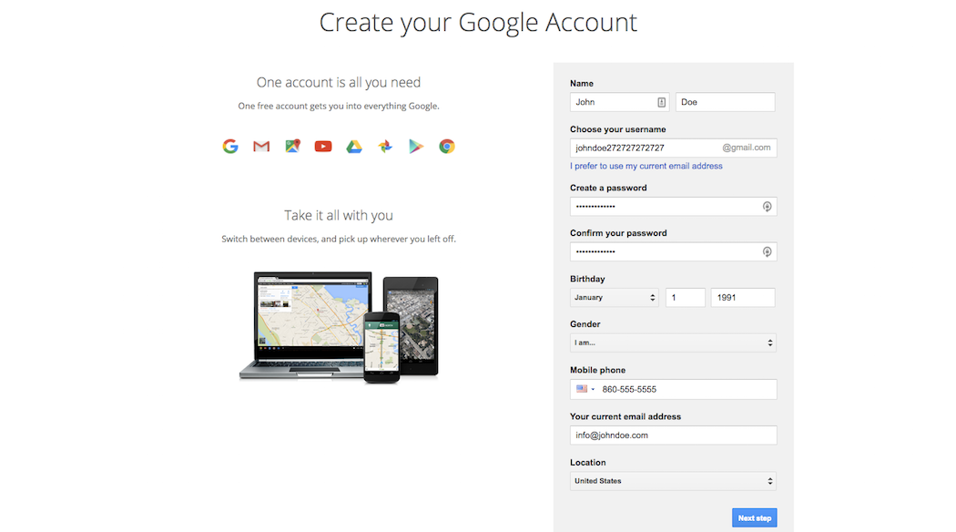 Create-Google-Account-uptheme