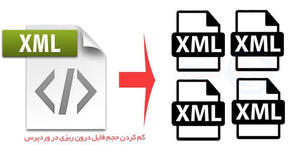 کاهش حجم فایل XML