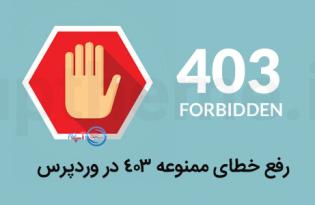 Fixes 403 Format Error in WordPress