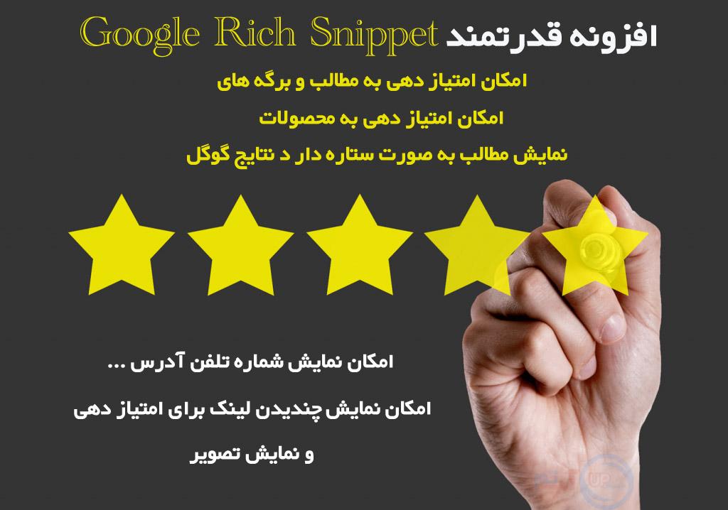 افزونه گوگل ریچ 2