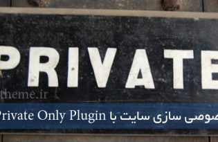 افزونه Private Only Plugin