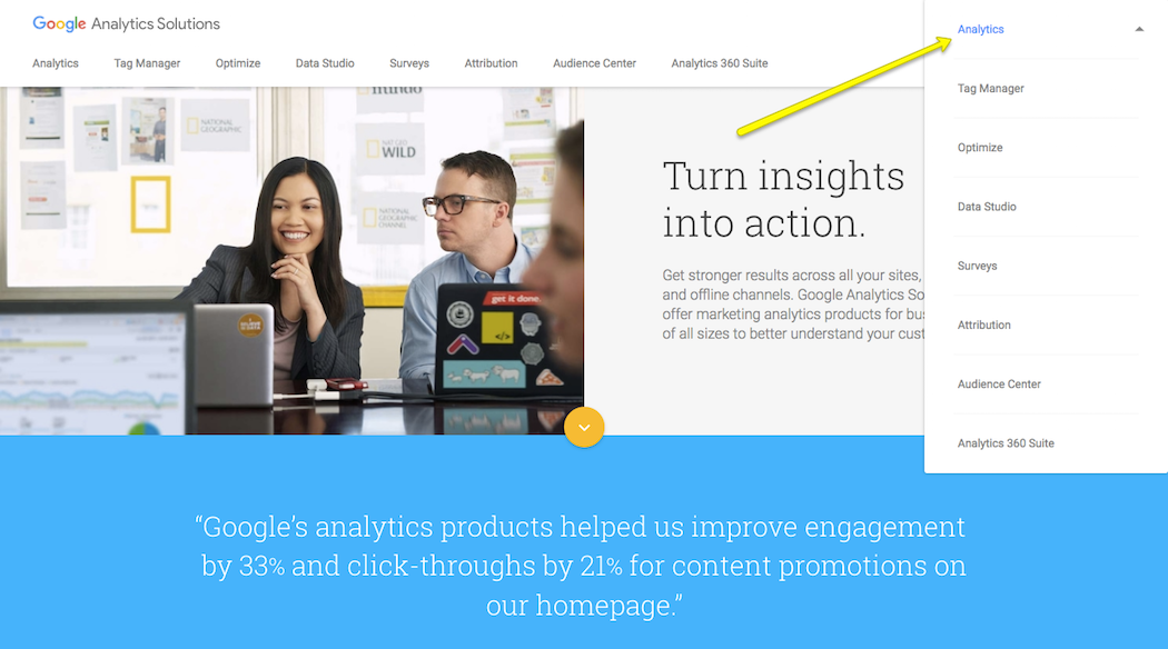 Sign-Into-Google-Analytics