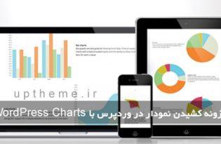 ساختن نمودار در سایت وردپرس