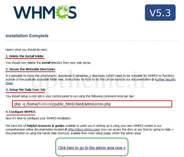 سیستم whmcs