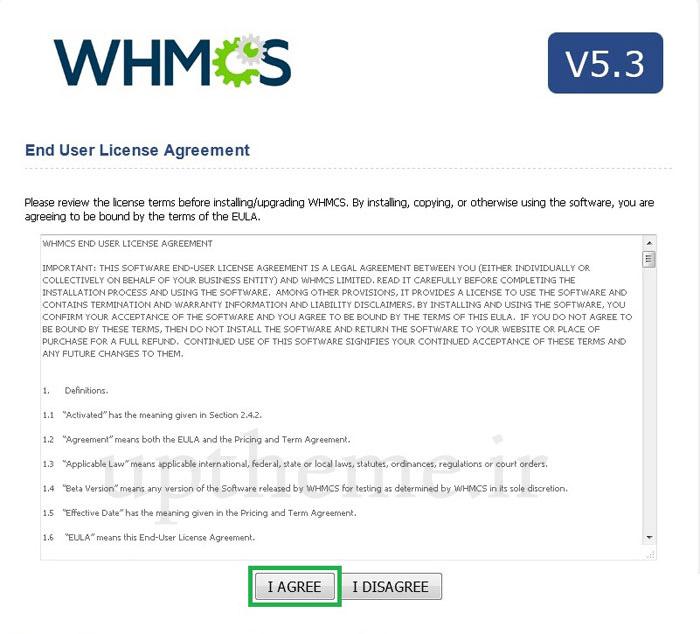 آموزش تصویری تنظیم whmcs