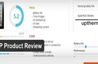 پلاگین WP Product Review